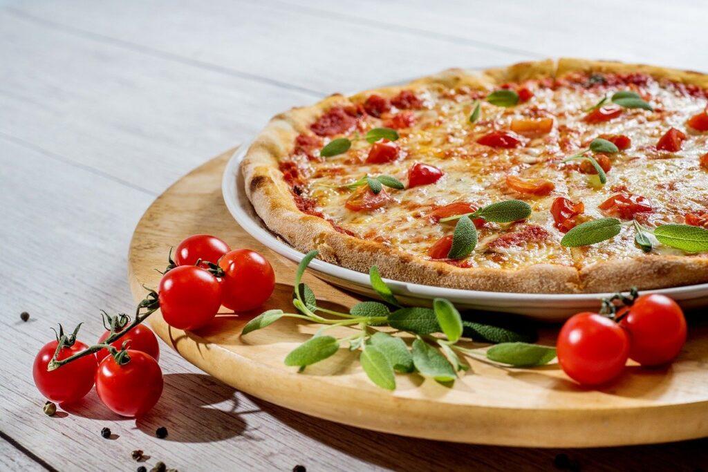 piza, food, cheese
